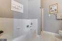 Master bathroom - 6549 GRANGE LN #401, ALEXANDRIA