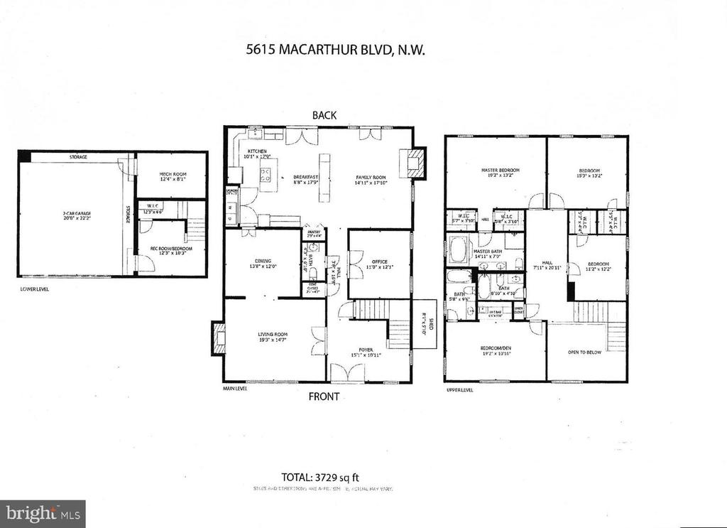 Floor Plan - 5615 MACARTHUR BLVD NW, WASHINGTON