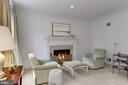 Living Room w/ Gas Fireplace - 5104 ROCKWOOD PKWY NW, WASHINGTON