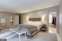 Master Bedroom w/ Walk-in Closet - 5104 ROCKWOOD PKWY NW, WASHINGTON