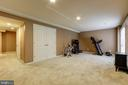 BASEMENT REC - 15346 WITS END DR, WOODBRIDGE