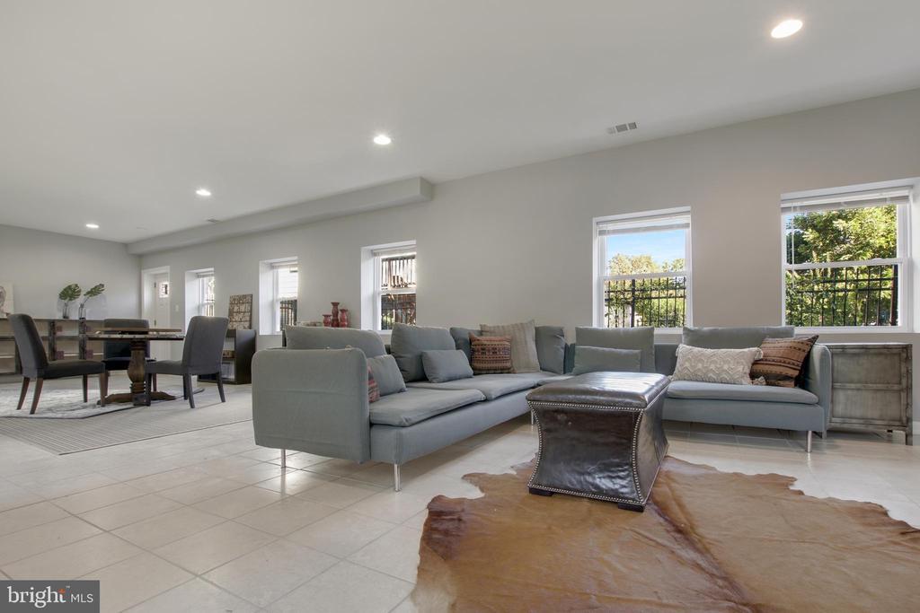 Lower Level Recreation Room - 3145 NEWTON ST NE, WASHINGTON