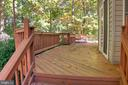 Deck Overlooking Trees - 12424 SILENT WOLF DR, MANASSAS