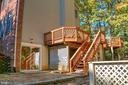 Steps from Deck To Patio - 12424 SILENT WOLF DR, MANASSAS