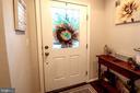 Welcoming Foyer . Decorator Neutral Paint Palette - 139 LEJEUNE WAY, ANNAPOLIS