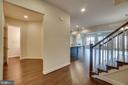 Hardwood floors throughout this main level. - 42560 DREAMWEAVER DR, BRAMBLETON