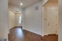 Entrance to garage - 42560 DREAMWEAVER DR, BRAMBLETON