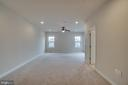 Master Bedroom sitting area. - 42560 DREAMWEAVER DR, BRAMBLETON
