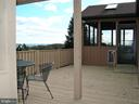 Spectacular views from the deck with a pet door - 4970 FLOSSIE AVE, FREDERICK