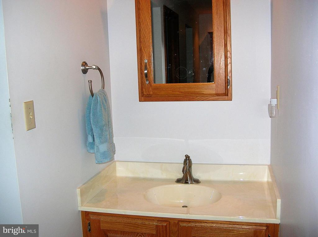 One of the two vanities in the master bedroom - 4970 FLOSSIE AVE, FREDERICK
