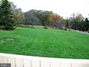 Plenty of space in the back yard - 4970 FLOSSIE AVE, FREDERICK