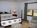 Master bedroom with dual walk-in closets - 4970 FLOSSIE AVE, FREDERICK