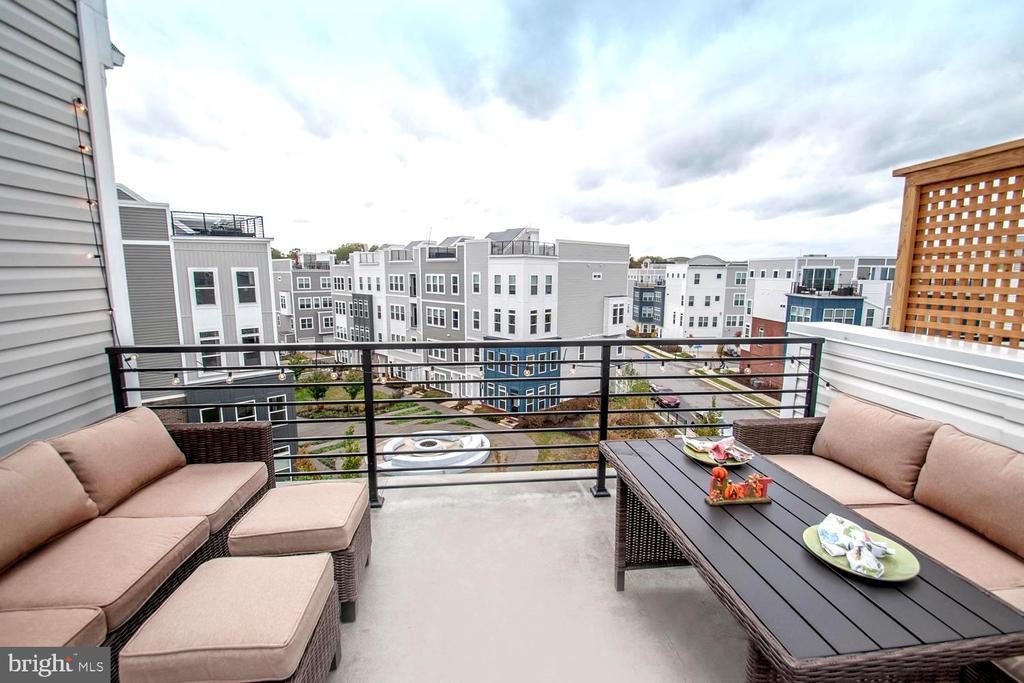 Rooftop Deck for Sun & Starlight Entertaining - 139 LEJEUNE WAY, ANNAPOLIS