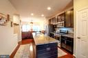 Kitchen w/Upgraded Granite Counters/Prep Island - 139 LEJEUNE WAY, ANNAPOLIS