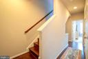 Upper Level Staircase Climbing to Rooftop Deck - 139 LEJEUNE WAY, ANNAPOLIS
