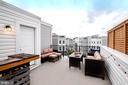 Rooftop Lounging Living Room with Bar - 139 LEJEUNE WAY, ANNAPOLIS