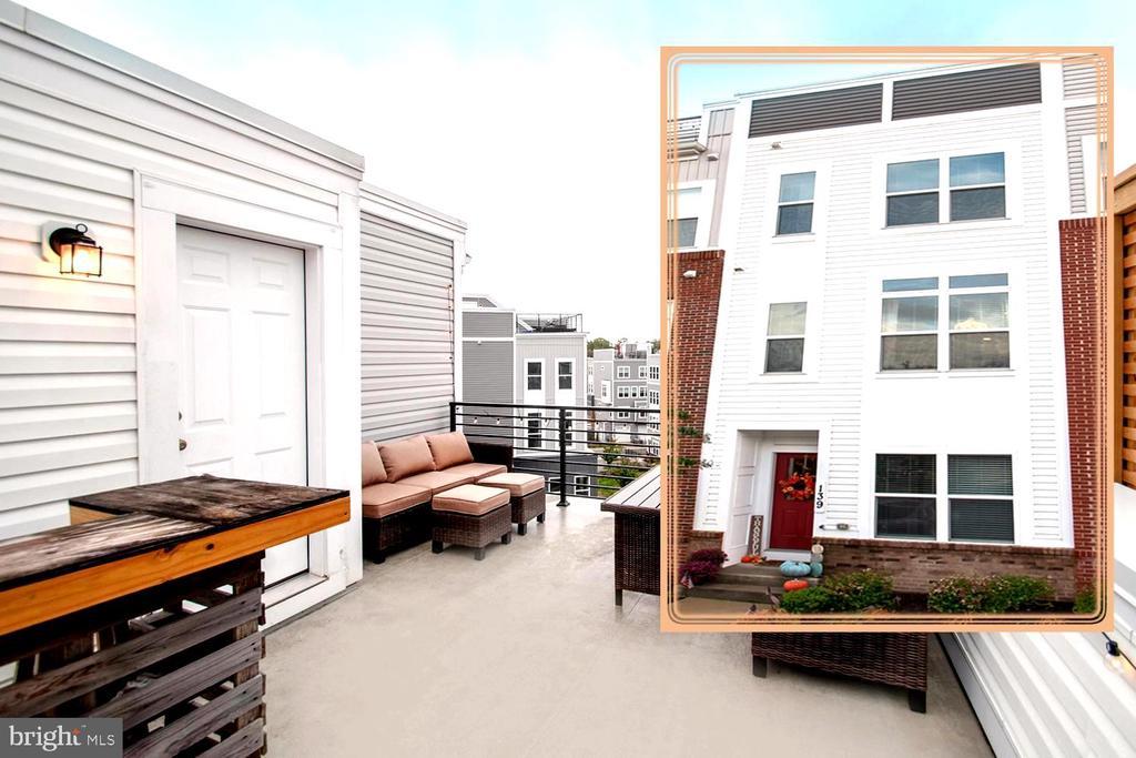 RARE Annapolis Townhome w/Rooftop Deck & Garage - 139 LEJEUNE WAY, ANNAPOLIS