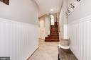 Foyer - 4505 MONMOUTH ST, FAIRFAX