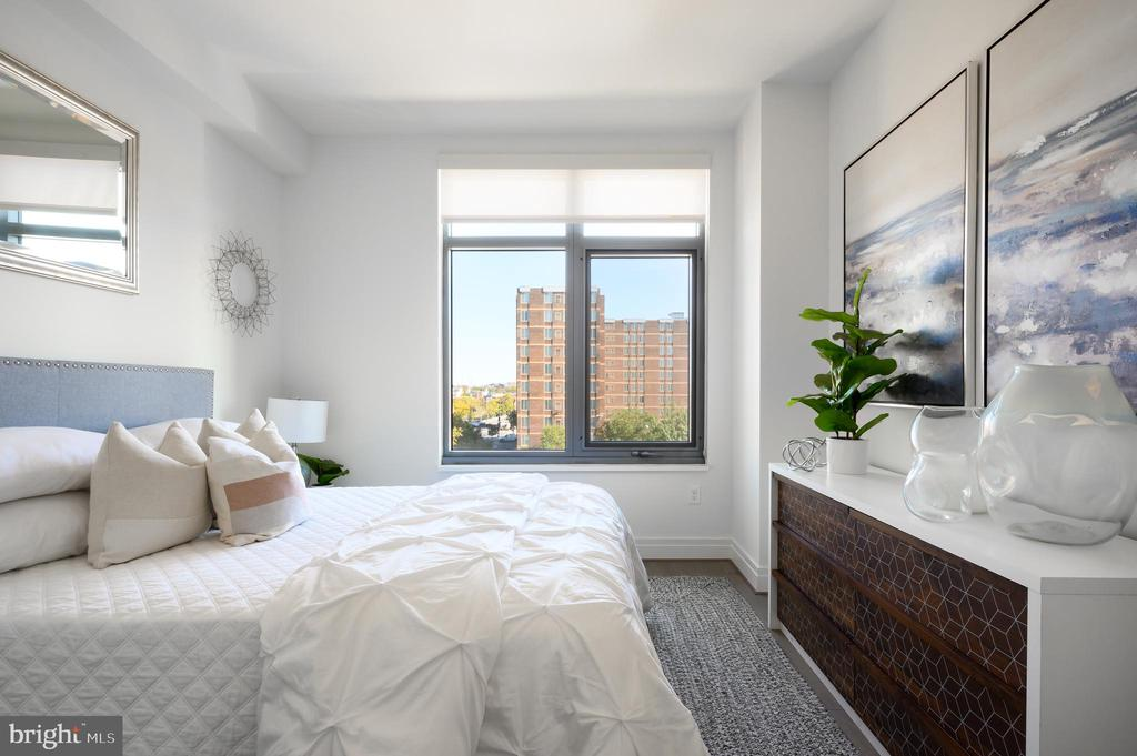 Sunny Master Bedroom - 810 O ST NW #409, WASHINGTON
