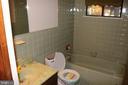 Lower Level Full Bath - 991 LAKE HERITAGE DR, RUTHER GLEN