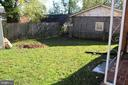 Backyard - 6909 RANDOLPH ST, HYATTSVILLE