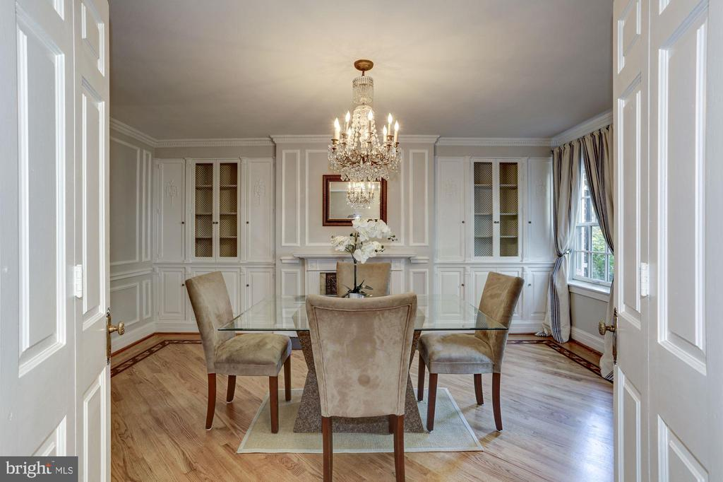 Formal Dining or Reception Room - 2543 WATERSIDE DR NW, WASHINGTON