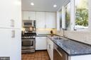 Kitchen - 3217 RESERVOIR RD NW, WASHINGTON
