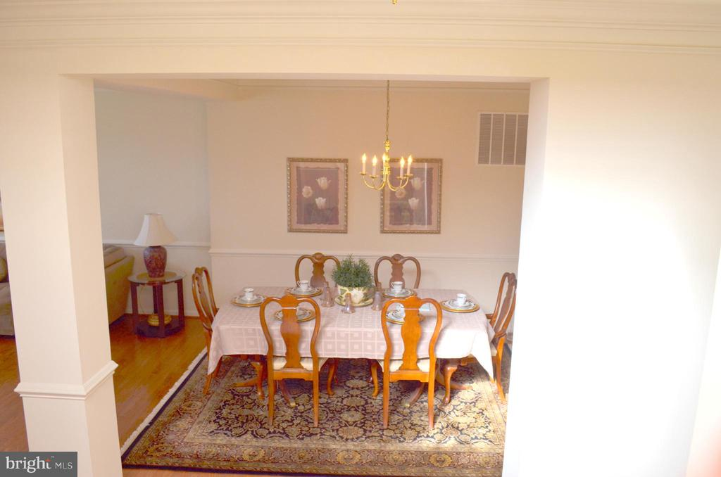 Dining room view - 22532 SCATTERSVILLE GAP TER, ASHBURN