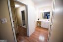 master bathroom - 5300 COLUMBIA PIKE #111, ARLINGTON