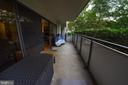 Enjoy large Balcony - 5300 COLUMBIA PIKE #111, ARLINGTON
