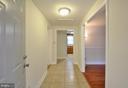 Foyer w/Ceramic tile - 308 WESTOVER PKWY, LOCUST GROVE