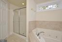 Jetted Soaking Tub & Separate  Shower in Master Ba - 308 WESTOVER PKWY, LOCUST GROVE
