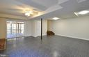Recreation Rm w/sliding doors leads to patio - 308 WESTOVER PKWY, LOCUST GROVE