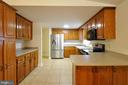 Open Kitchen w/Updated appliances - 308 WESTOVER PKWY, LOCUST GROVE
