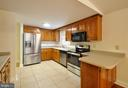 Lots of Counters & Cabinets in this Kitchen! - 308 WESTOVER PKWY, LOCUST GROVE