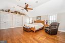 Master Bedroom - 10140-A LENHART RD, FREDERICK