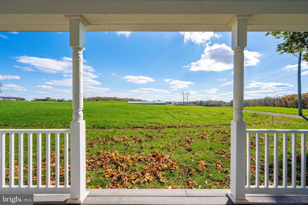 Porch View - 10140-A LENHART RD, FREDERICK