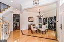 Large Dining room with dual access to kitchen - 2158 HARITHY DR, DUNN LORING