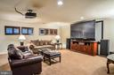Lower Level media room / rec room - 2158 HARITHY DR, DUNN LORING