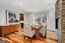 Kempas Natural Hardwood Flooring - 4415 P ST NW, WASHINGTON