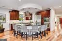 Oversized Eat-In Kitchen Island - 4415 P ST NW, WASHINGTON
