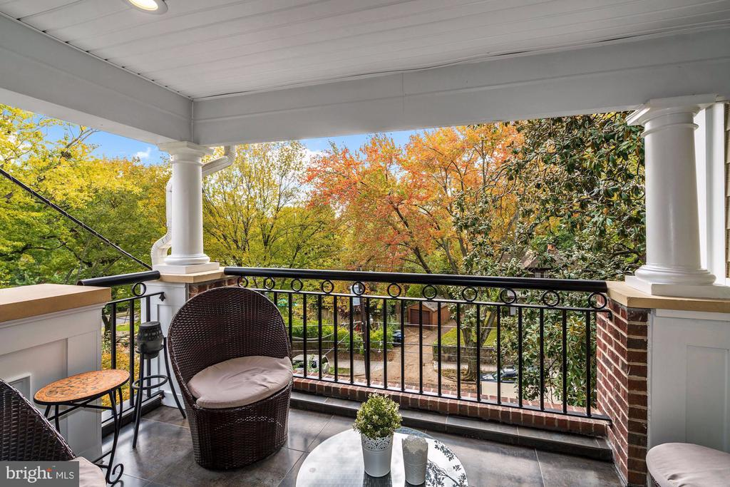 Expansive Balcony - 4415 P ST NW, WASHINGTON