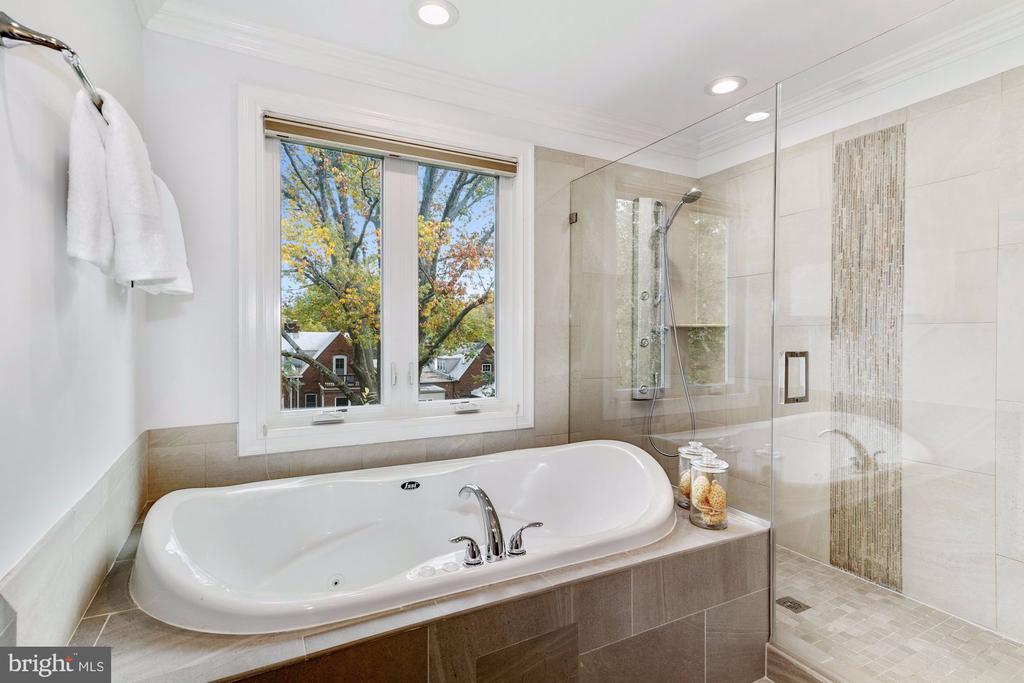 Master Bath Jacuzzi Tub - 4415 P ST NW, WASHINGTON
