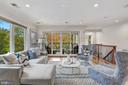Master Suite Sitting Area - 4415 P ST NW, WASHINGTON
