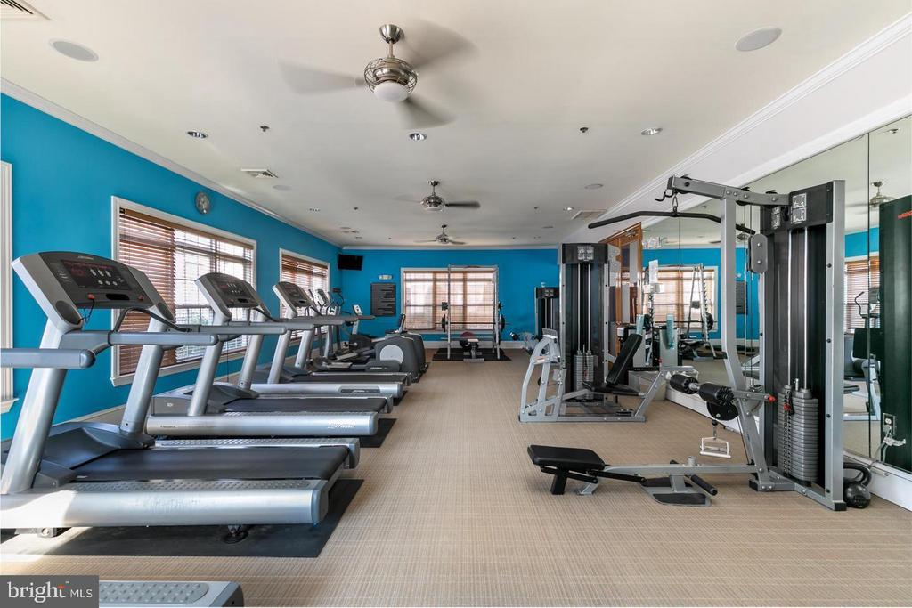 Fitness room - 501 SUNSET VIEW TER SE #101, LEESBURG