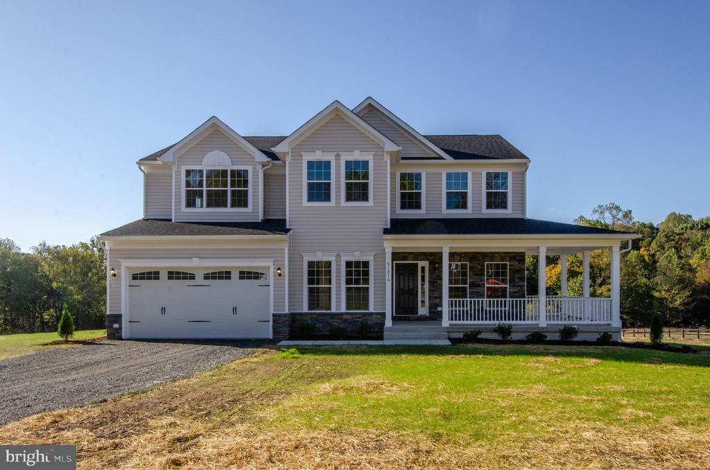 ELEVATION EXAMPLE - color of siding will be differ - 4 JACOBS HILL COURT, LEESBURG