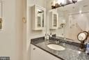 second bath room - 1401 N OAK ST #309, ARLINGTON