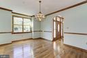 Formal Dining Room - 7028 HUNTER LN, HYATTSVILLE