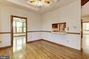 Pass Through from Kitchen to Dining Space - 7028 HUNTER LN, HYATTSVILLE