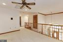 Upper Level Landing Overlooking Foyer - 7028 HUNTER LN, HYATTSVILLE